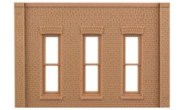DPM 90105 set 2 muurdelen met 5 pilasters