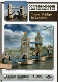 Bouwplaat SB 671   Tower Bridge