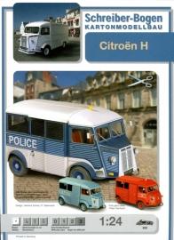Bouwplaat SB 632   Citroën H