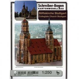 Bouwplaat SB 664   Kerk Stuttgart
