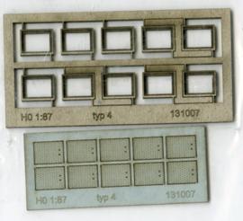 131007 Putranden met deksel voor kabelgoot rechthoekig HO 1:87