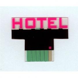 Gevel lichtreclame 2182   Hotel HO
