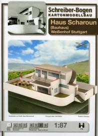 Bouwplaat SB 779 Haus Scharoun (Bauhaus)