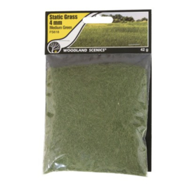 4 mm Static Grass Medium green FS 618