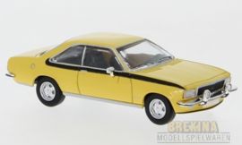 PCX 87 0037 Opel Commodore B Coupe geel 1:87