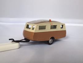 METOSUL Caravan bruin/creme 1:43