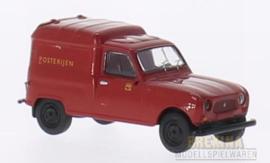 BRE 14717 Renault R4 Fourgonnette Posterijen 1:87