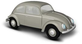 BA 52951 VW Kever grijs 1:87