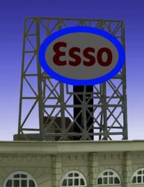 Reclamebord 33-9030 Esso N