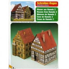 Bouwplaat SB 72413 Stadshuizen 2