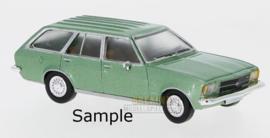 PCX 87 0022 Opel Rekord D groen 1:87