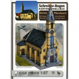 Bouwplaat SB 686   Kerk Pfersbach