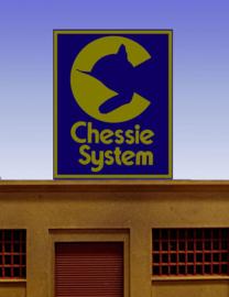 Reclamebord 44-2752   Chessie System HO