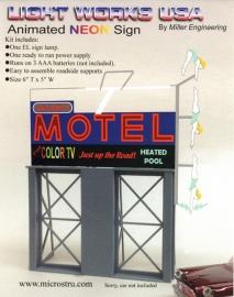Reclamebord 88-1651   Motel Roadside HO