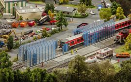 FA 120208 trein wasinstallatie HO