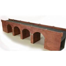 PO 240 Bakstenen viaduct dubbelspoor OO/HO
