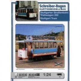 Bouwplaat SB 693   Tram motorwagen