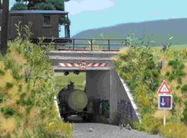 BU 1409 viaduct HO