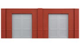 DPM 60106 set van 3 muurdelen met laaddeuren en 10 pilasters