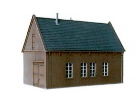 bouwpakket grote houten schuur 8710.113
