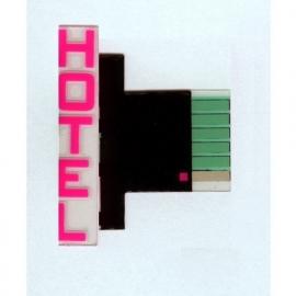 Gevel lichtreclame 14822-R   Hotel HO