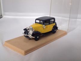 Eligor Citroen Rosalie Taxi geel/zwart 1:43
