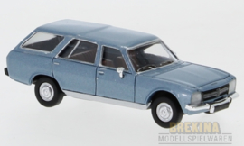 PCX 87 0024 Peugeot 504 blauw 1:87