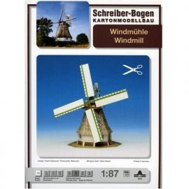 Bouwplaat SB 579   Windmolen