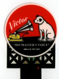 Reclamebord 8072   RCA Victor HO