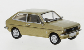 PCX 87 0238 Ford Fiesta gold 1:87