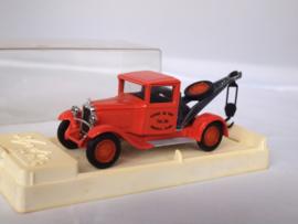 Solido 4410 C4F kraanwagen oranje 1:43