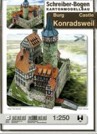 Bouwplaat SB 785  Burg Konradsweil