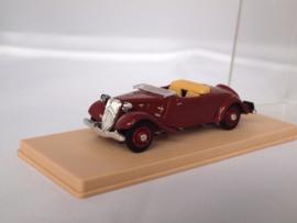 Eligor Citroen AV cabrio rood 1:43