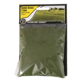 2 mm Static Grass Dark green FS 613