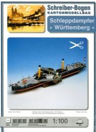 Bouwplaat SB 554   Stoomsleepboot