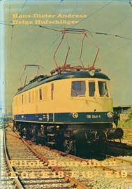 Ellok Baureihen E 04 - E 18 - E 18(2) - E 19