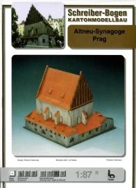 Bouwplaat SB 72581   Synagoge