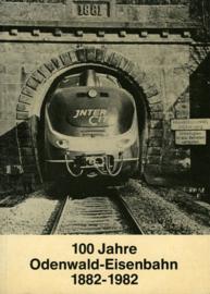 100 Jahre Odenwald-Eisenbahn 1882 - 1982