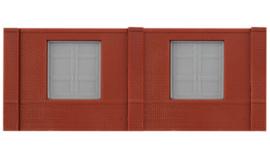 DPM 60105 set van 3 muurdelen met laaddeuren en 10 pilasters