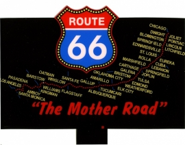 Reclamebord 5061   Route 66 HO