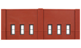 DPM 60103 set van 3 muurdelen met ramen en 10 pilasters