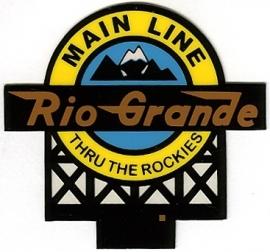 Reclamebord 44-0602   Rio Grande HO