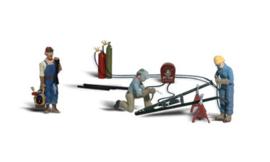 WLS A2748 Loodgieters met accessoires 1:43