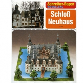 Bouwplaat SB 72485   Kasteel Neuhaus
