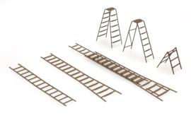 387 283 Set ladders HO 1:87