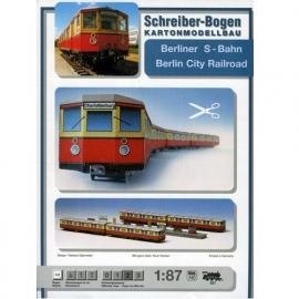 Bouwplaat SB 587   Berliner S-Bahn