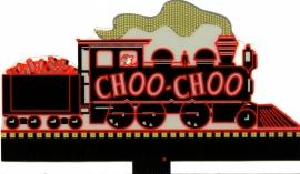 Reclamebord 88-1601   Choo-Choo stoomloc O