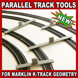PPT HO MK parallel houder Marklin K-rails
