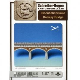 Bouwplaat SB 599   Spoorbrug