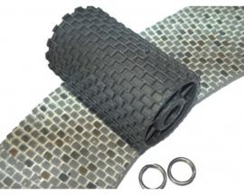 85000056 Graveer roller 3 x 2 mm, breed 35 mm